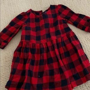 Buffalo check dress EUC